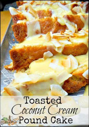 Cream Cheese Pound Cake With David Recipe — Dishmaps