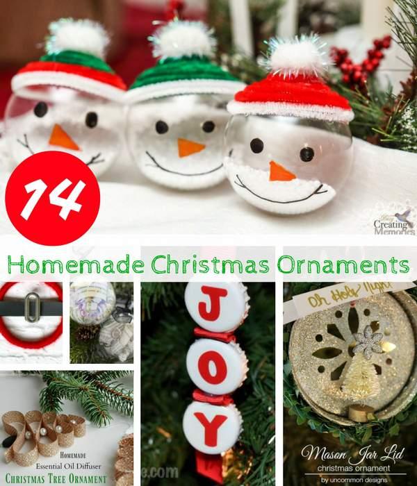 14 homemade christmas ornaments homestead bloggers network - Christmas Ornaments Homemade