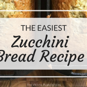 Not just another 'Zucchini Bread Recipe'