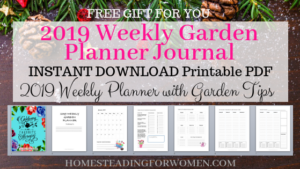 image about Free Printable Garden Planner identified as Instantaneous Obtain No cost 2019 Printable Planner with Regular monthly